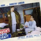 Bob Hope and Lynne Overman in Caught in the Draft (1941)