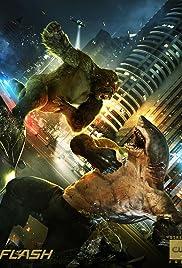 King Shark vs. Gorilla Grodd Poster