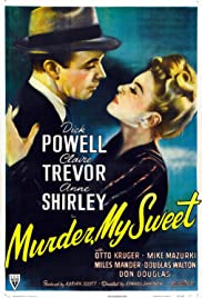 Murder, My Sweet (1944) Poster - Movie Forum, Cast, Reviews