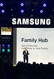 Samsung Commercial for CES Conference Poster
