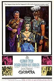 Richard Burton, Elizabeth Taylor, and Rex Harrison in Cleopatra (1963)