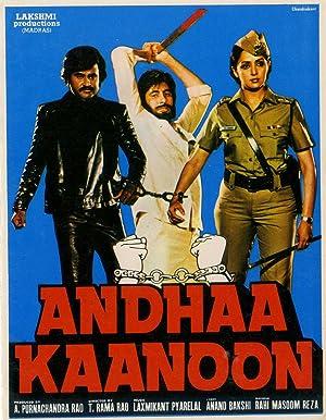 Andhaa Kaanoon movie, song and  lyrics