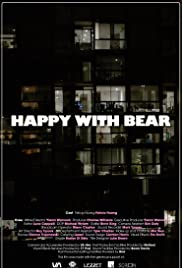 Happy with Bear Poster