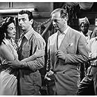 María Félix, Curd Jürgens, and Yves Montand in Les héros sont fatigués (1955)