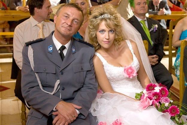 Arkadiusz Nader and Magdalena Waligórska in Ranczo (2006)
