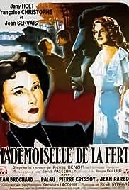 Mademoiselle de la Ferté Poster