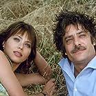 Ornella Muti and Giancarlo Giannini in La vita è bella (1979)
