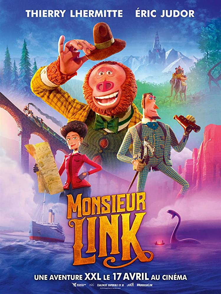 Image result for Missing Link poster