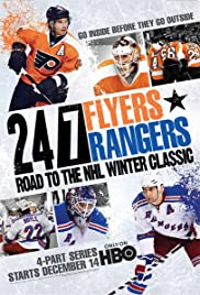 24/7: Flyers/Rangers - Road to the NHL Winter Classic Poster