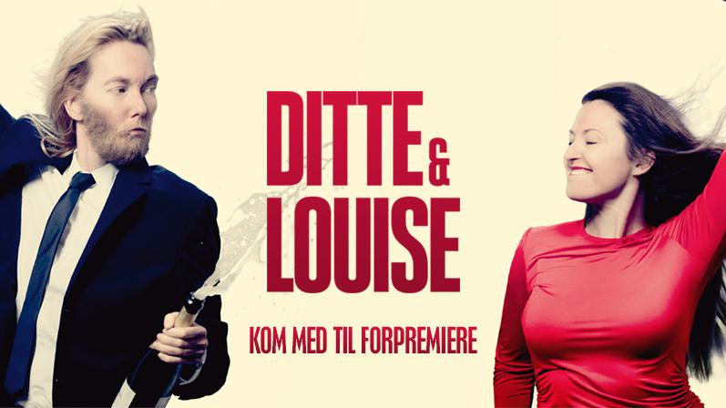 Louise Mieritz and Ditte Hansen in Ditte & Louise (2018)