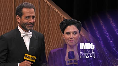 Tony Shalhoub and Alex Borstein Are Happy to Win Together