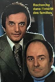 Dominique Paturel and Michel Roux in Recherche dans l'intérêt des familles (1977)