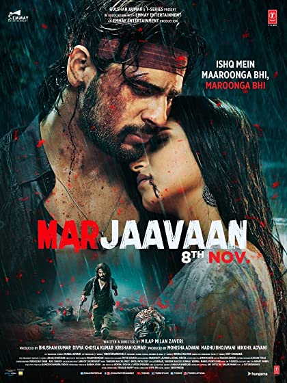 Marjaavaan 2019 Full Hindi Movie Download 720p HDRip