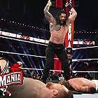 Adam Copeland, Bryan Danielson, and Joe Anoa'i in WrestleMania 37 (2021)