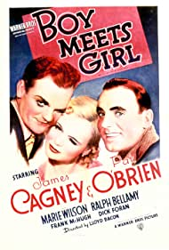 James Cagney, Pat O'Brien, and Marie Wilson in Boy Meets Girl (1938)