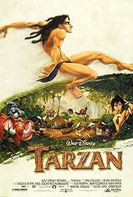 Minnie Driver, Tony Goldwyn, Wayne Knight, and Rosie O'Donnell in Tarzan (1999)