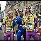 Marcel Hensema, Frank Lammers, Mimoun Oaïssa, and Martin van Waardenberg in De Marathon (2012)