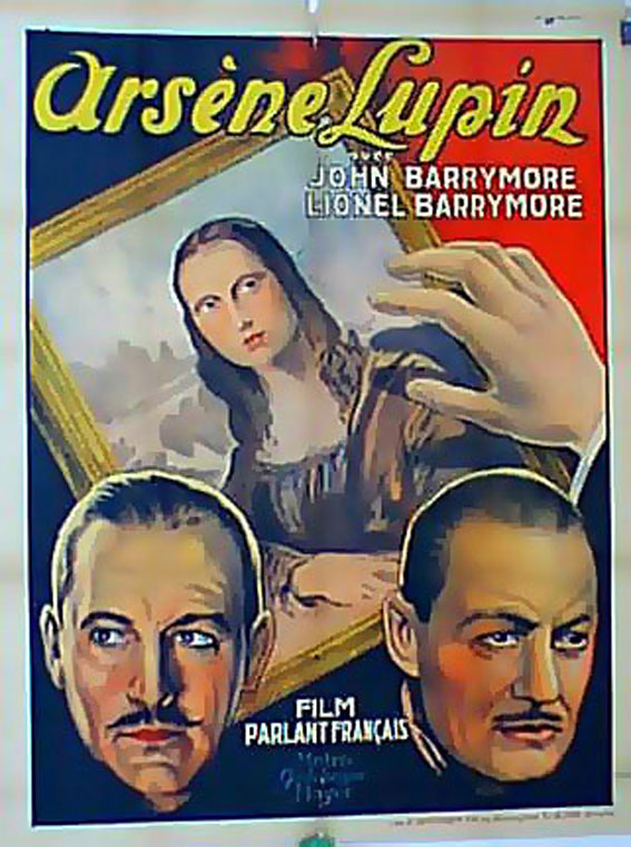 John Barrymore and Lionel Barrymore in Arsène Lupin (1932)