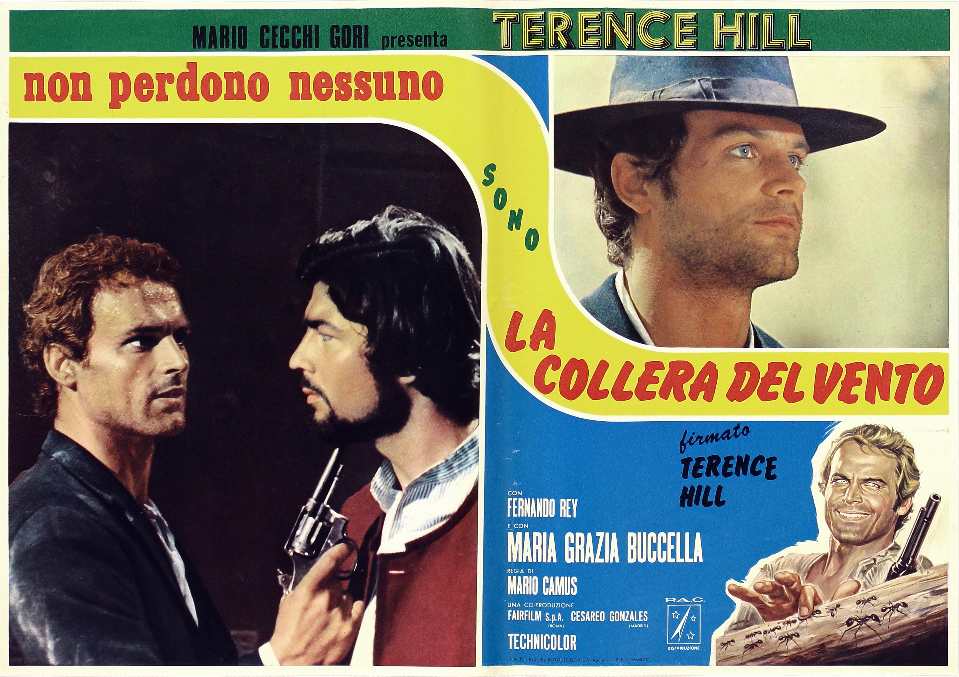 Terence Hill in La collera del vento (1970)