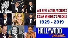 Un homenaje a los premios de la Academia: Todos los discursos de los ganadores de mejor actor / actriz