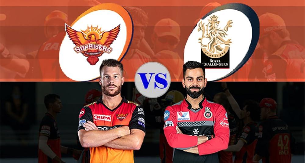 David Warner and Virat Kohli in Match 6: Sunrisers Hyderabad vs Royal Challengers Bangalore (2021)