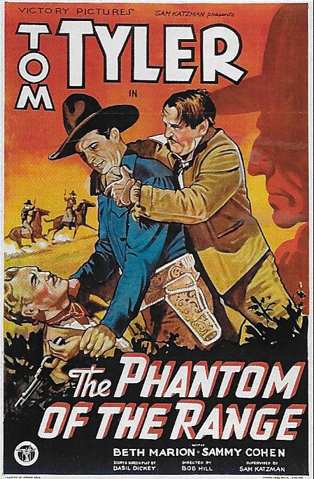 Charles King, Forrest Taylor, and Tom Tyler in The Phantom of the Range (1936)