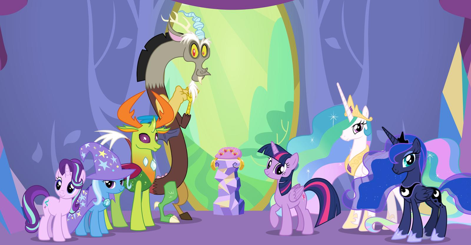 My Little Pony Friendship Is Magic Celestial Advice Tv Episode