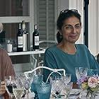 Valeria Golino, Pierre Arditi, Valeria Bruni Tedeschi, Gigi Borini, and Souzan Chirazi in Les estivants (2018)