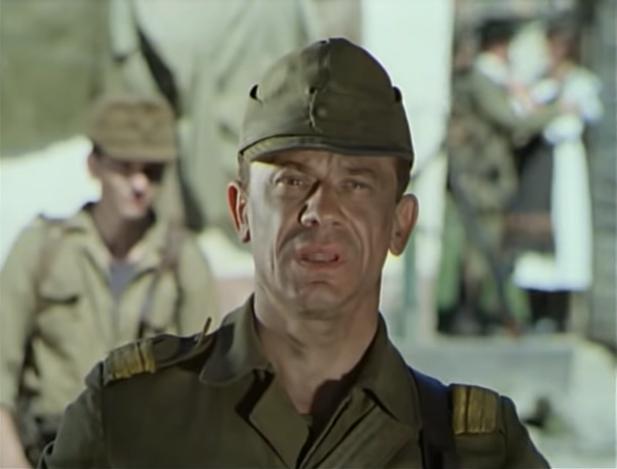 Valentin Uritescu in Noi, cei din linia întîi (1985)