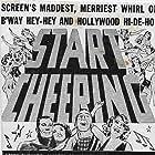 Jimmy Durante, Gertrude Niesen, Joan Perry, and Charles Starrett in Start Cheering (1938)