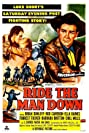 Ride the Man Down (1952) Poster