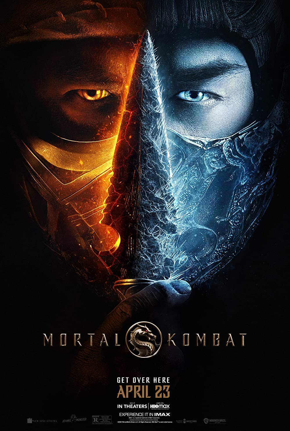 Mortal Kombat 2021 English 720p HDCAMRip 800MB | 300MB Download
