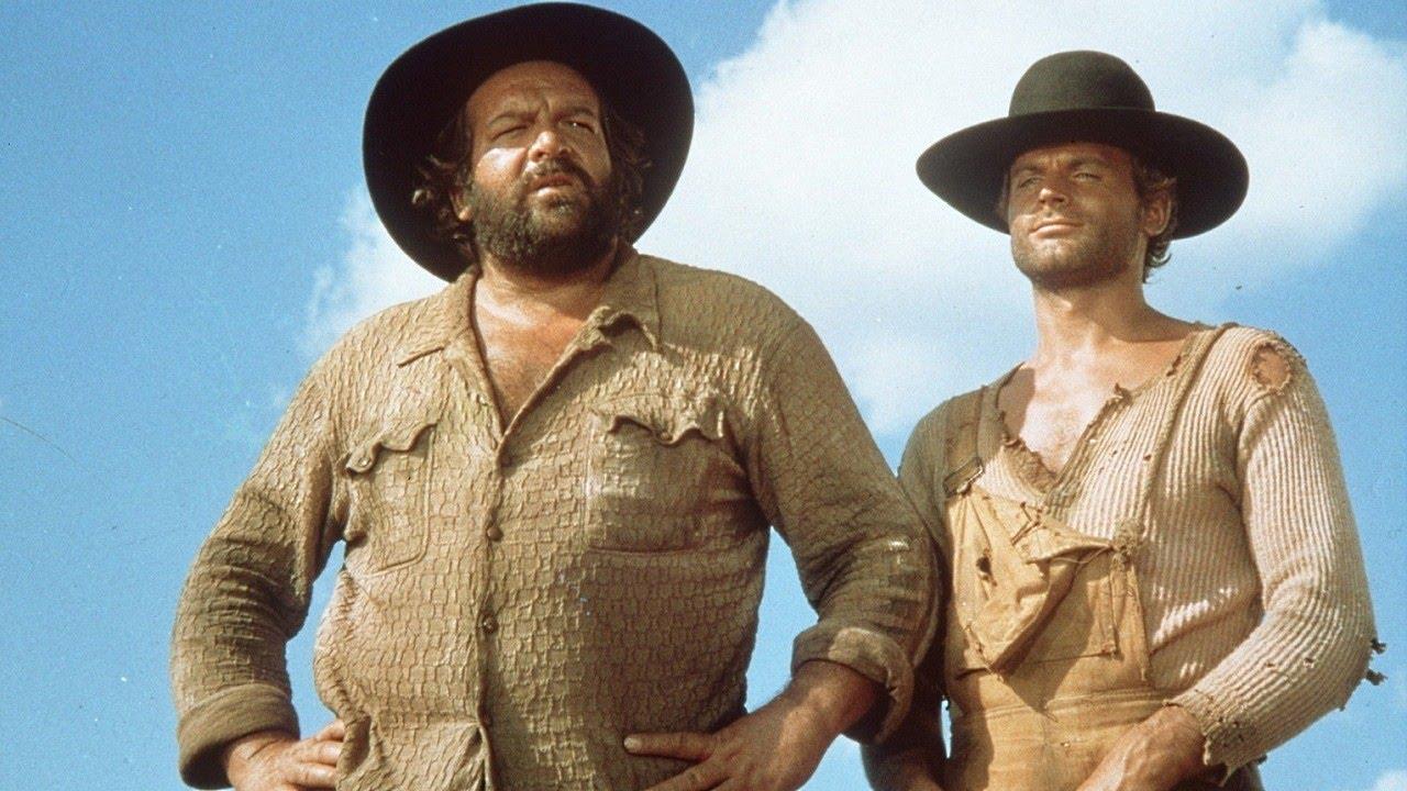 Terence Hill and Bud Spencer in Lo chiamavano Trinità... (1970)