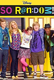Brandon Mychal Smith, Allisyn Snyder, Tiffany Thornton, Sterling Knight, and Doug Brochu in So Random! (2011)