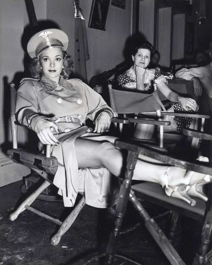 Jane Wyman in You're in the Army Now (1941)