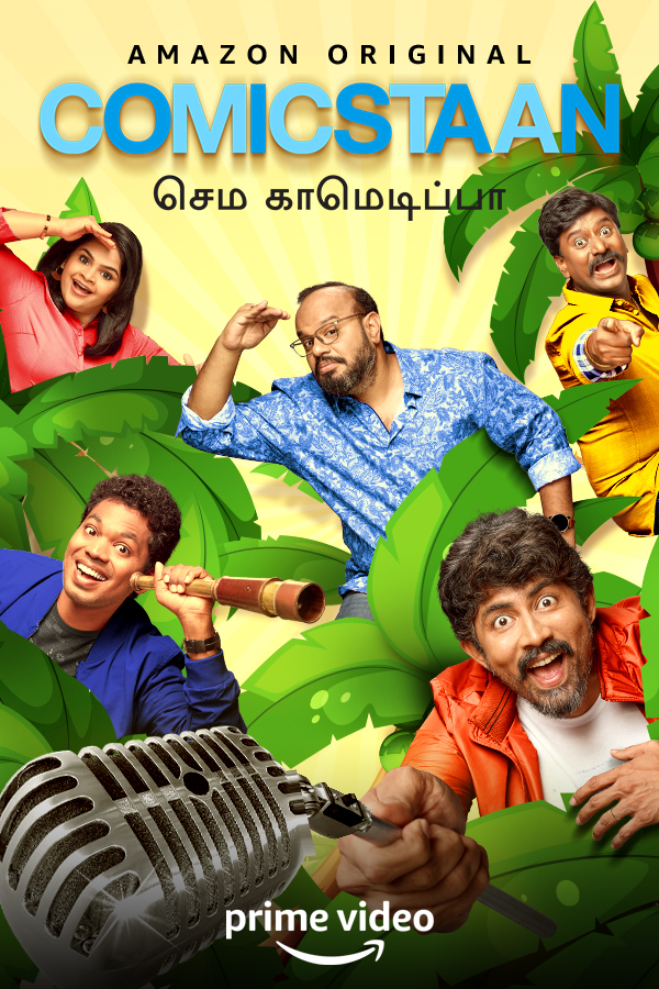 Comicstaan Semma Comedy Pa S01 2020 Tamil Complete AMZN Web Series 720p HDRip 2510MB Download