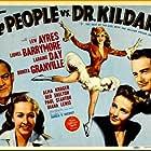 Lew Ayres, Lionel Barrymore, Laraine Day, and Bonita Granville in The People vs. Dr. Kildare (1941)