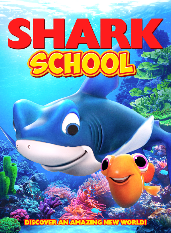 Shark School 2020 English Animation Movie 720p HDRip 800MB Download