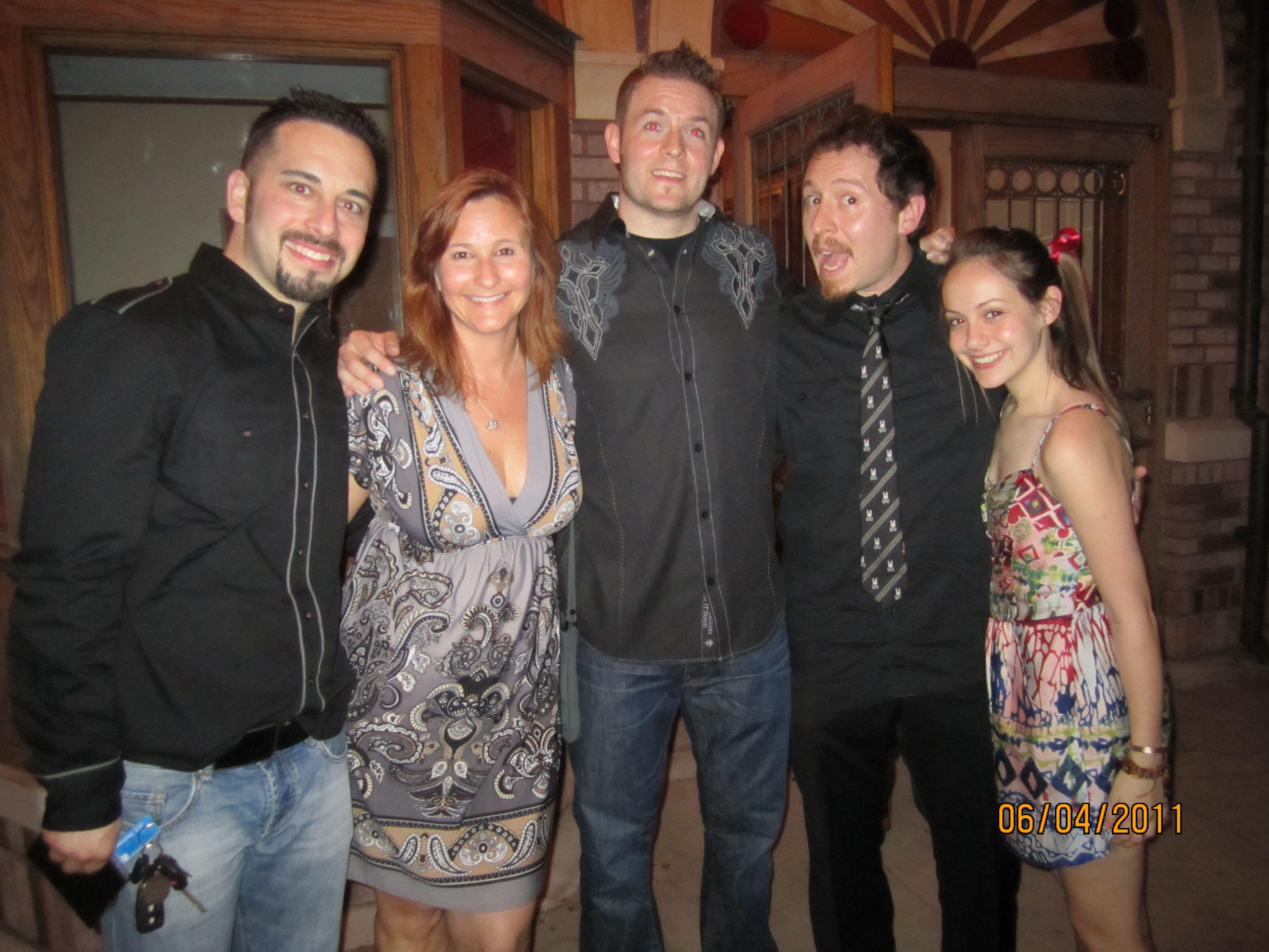June 2011 - 'Cassadaga' Cast & Crew screening with Producer Scott Poiley, Writer Bruce Wood, Director Anthony DiBlasi, Actress Sarah Sculco