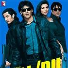 Govinda, Ali Zafar, Ranveer Singh, and Parineeti Chopra in Kill Dil (2014)