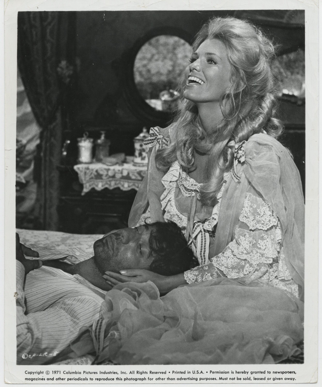 Victoria George and Joe Namath in The Last Rebel (1971)