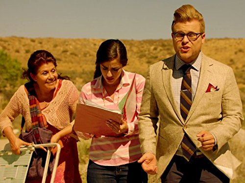 Vivis Colombetti, Adam Lustick, and Mimi Davila in Adam Ruins Everything (2015)