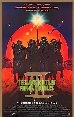 Teenage Mutant Ninja Turtles III Poster Image