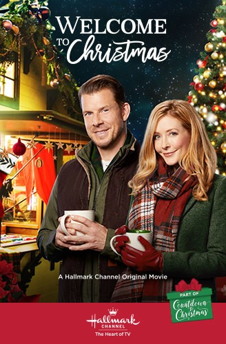 Jennifer Finnigan and Eric Mabius in Welcome to Christmas (2018)