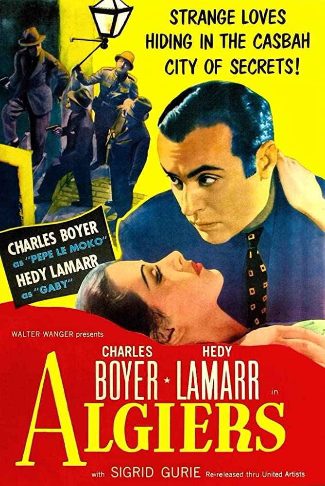 Charles Boyer and Hedy Lamarr in Algiers (1938)