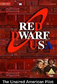 Chris Eigeman and Craig Bierko in Red Dwarf (1992)