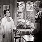 Joan Crawford and Jeff Chandler in Female on the Beach (1955)