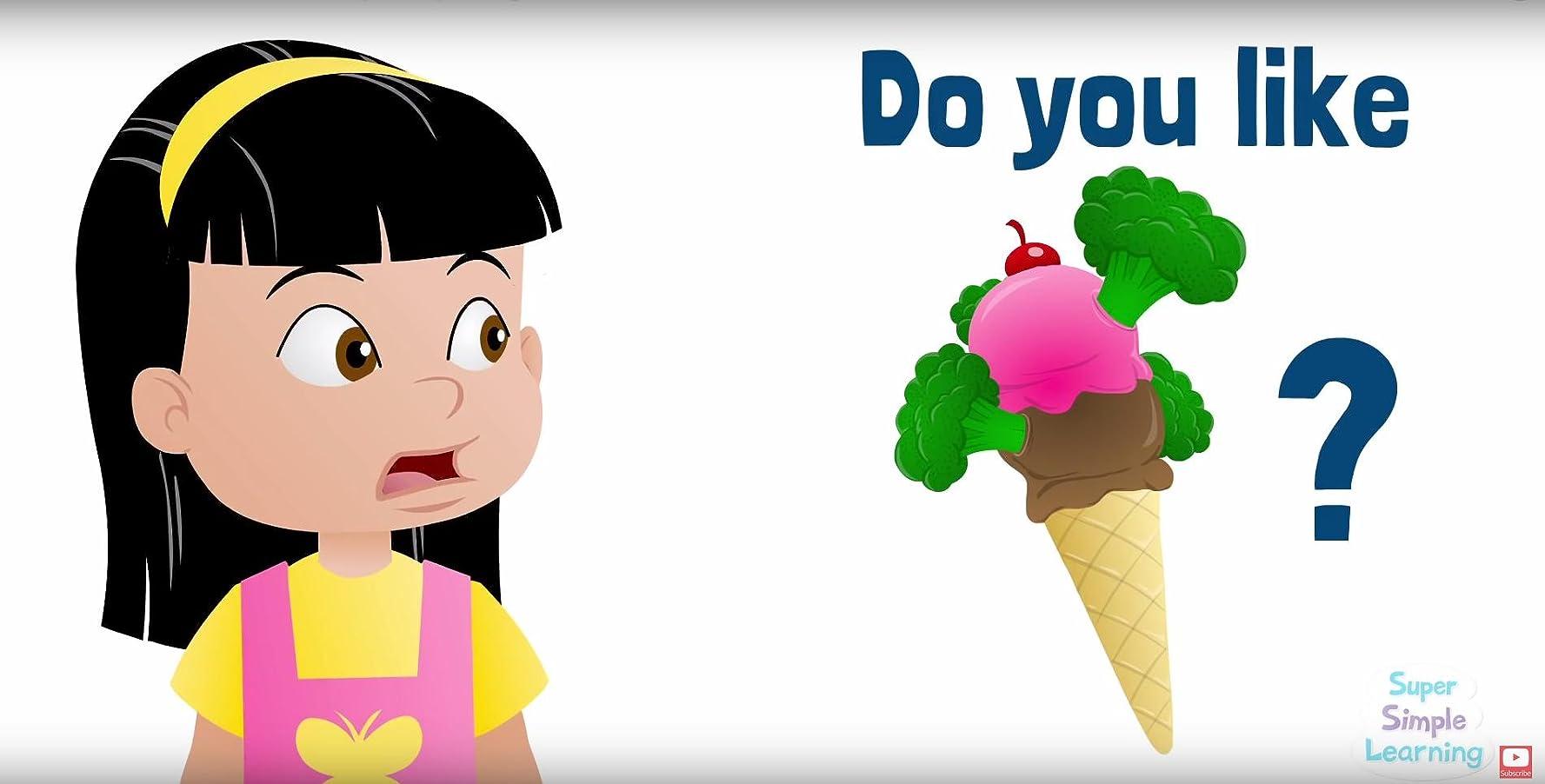 Do You Like Broccoli Ice Cream? & More Kids Songs: Super Simple ...