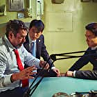 Angus Macfadyen, Jung Woo-sung, and Yoo Yeon-Seok in Steel Rain 2 (2020)