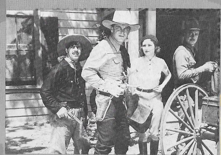 Marion Shilling, Hal Taliaferro, Guinn 'Big Boy' Williams, and Frank Yaconelli in Gun Play (1935)